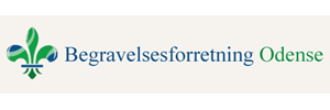 logo begravelsesforretning odense