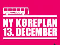 Nye køreplaner 13. december