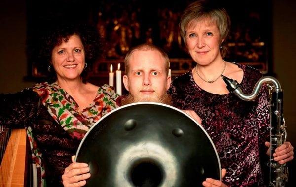 Natkirkekoncert med Trio Hang i Odense Domkirke