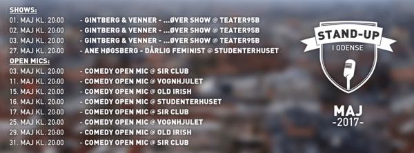 Comedy Open Mic på Old Irish