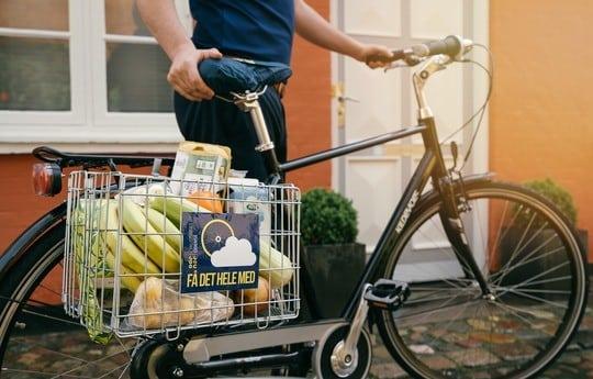 Tag cyklen på indkøbsturen