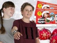 Ved at sælge julelodder i lokalsamfundet kan foreninger, sportsklubber og skoleklasser tjene penge til deres fælleskasse, samtidig med at de støtter børn med diabetes. Pressefoto: Diabetesforeningen.