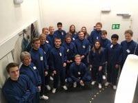 HTX-elever fra Odense på rundtur hos Novo Nordisk