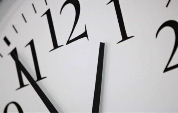 Husk uret skal stilles en time frem