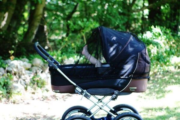 Babymus - Byvandring med barnevogn