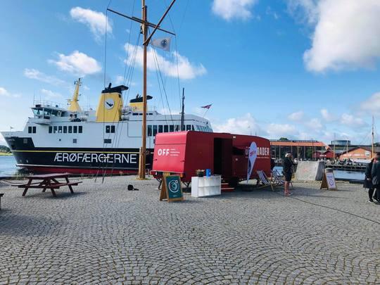 Rullende kortfilmbiograf:  Kulturregion Fyn og OFF kører ud i det fynske sommerland