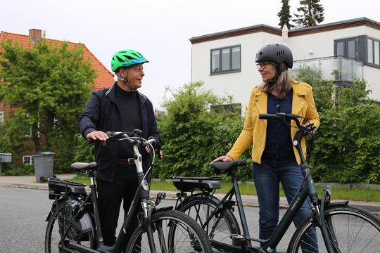 Ældre er overrepræsenteret i cyklistulykker