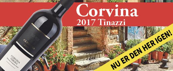Vinkup - Corvina til halv pris