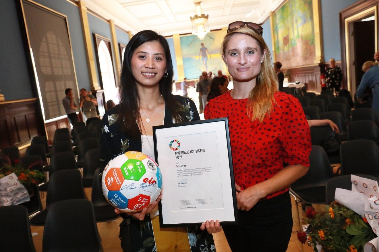 Bæredygtig emballage vinder Odense Verdensmålspris 2019