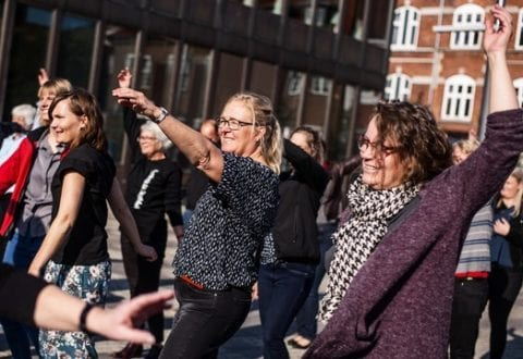 Kollegamotion, foto: Dansk Firmaidræt