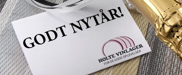 Godt nytår fra Holte Vinlager