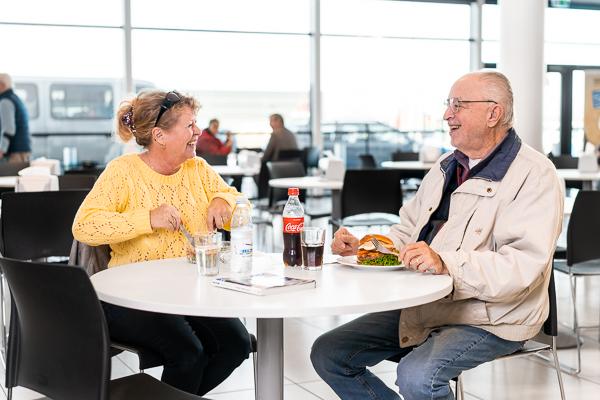 Biltema i Odense har åbnet ny stor café